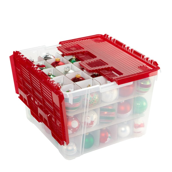 christmas ornament storage 6 top containers for moving or storing decorations 12812
