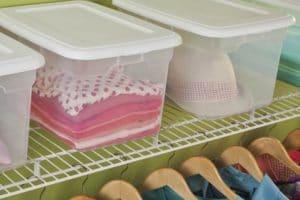 Sterilite white storage box